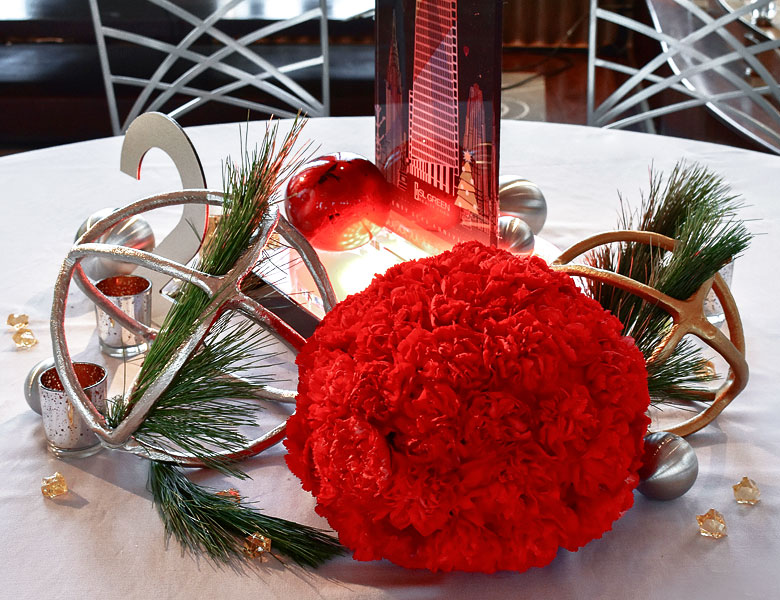 Rainbow Room Event Centerpiece