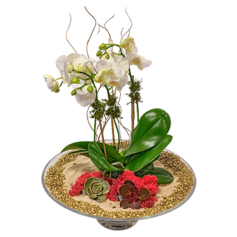 Luludi Living Art Holiday Lobby Centerpiece