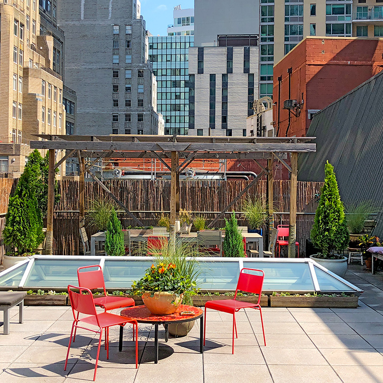 Luludi Living Art NYC Rooftop Landscape Design