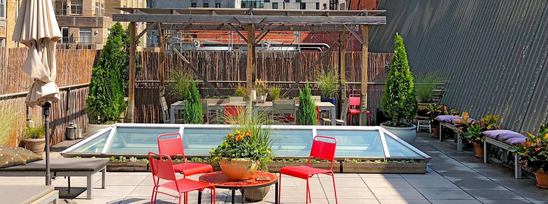 Luludi Living Art 90 William St Rooftop Garden