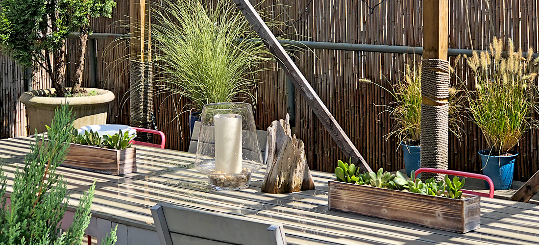 Luludi Living Art 90William St Landscaped Table