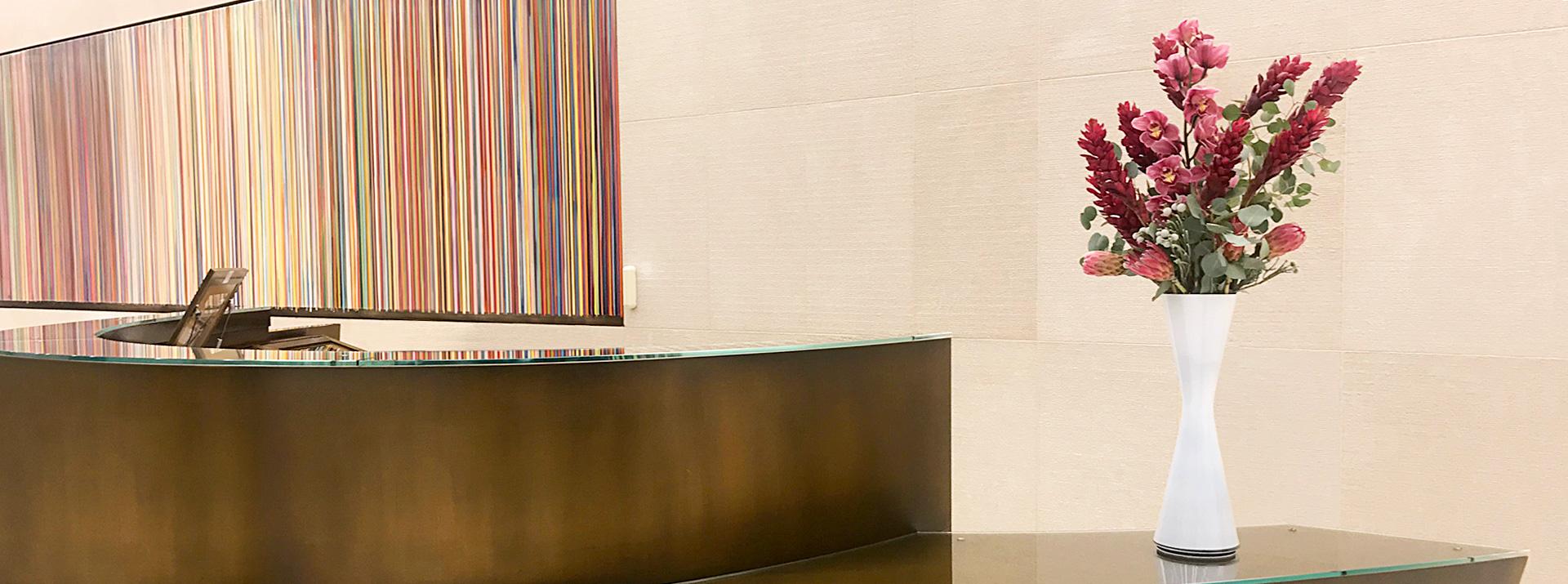 Luludi Living Art Lobby 75 Rockefeller Center NYC