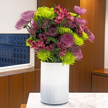Luludi Living Art 75 Rockefeller Floral Display