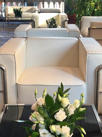 Luludi Living Art Britt College Event Tabletop Floral Display